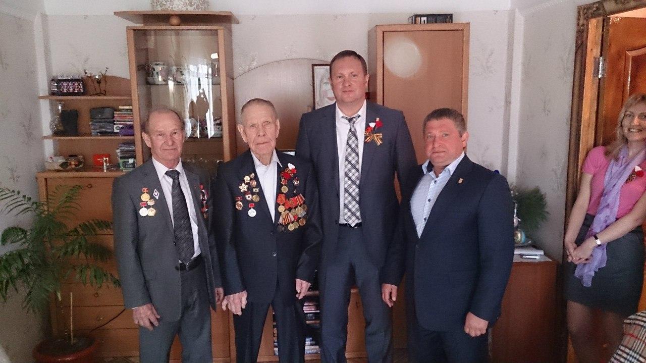 Сергей Горбунов поздравил с праздником Великой победы ветеранов ВОВ.