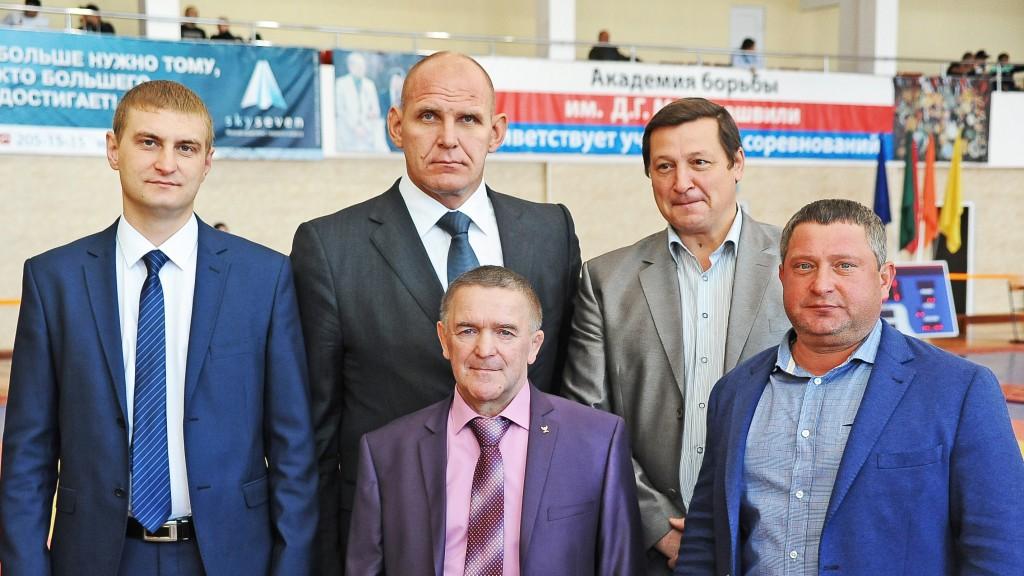 Прошел ХХXI Всероссийский турнир по греко-римской борьбе