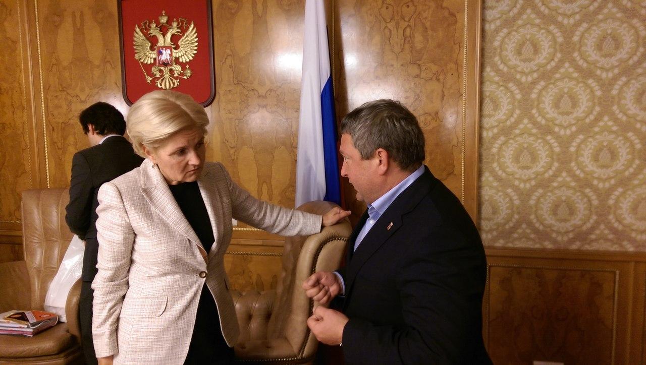Сергей Горбунов принял участие в рабочей встрече членов Совета при Правительстве РФ в г. Москве