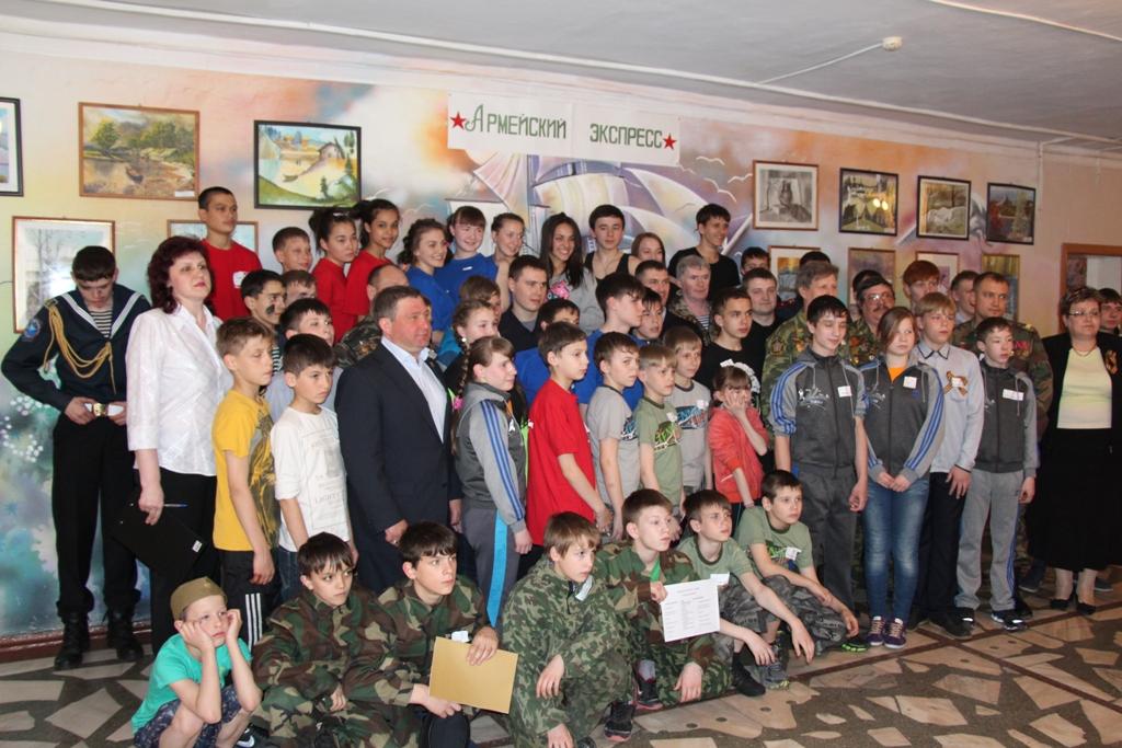 В детском доме № 1 г. Красноярска прошел военно-патриотический конкурс