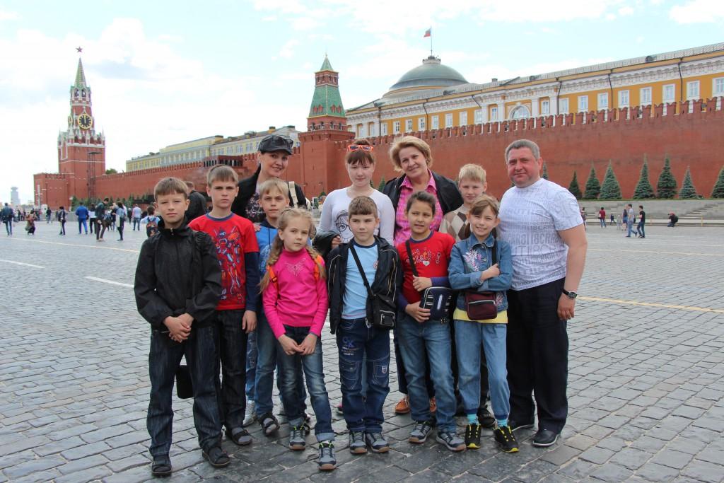 Столица России — Москва!
