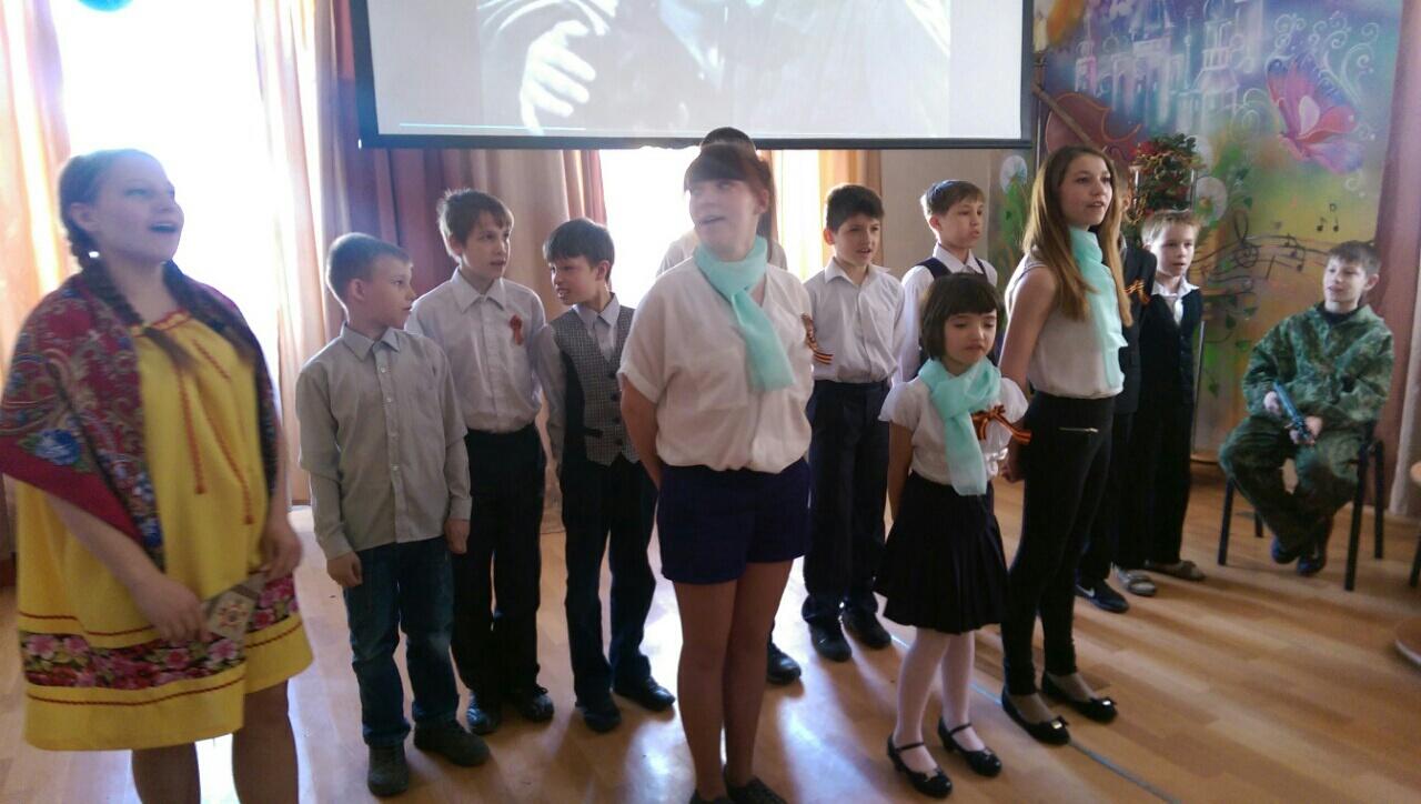 Праздник песни в детском доме 1