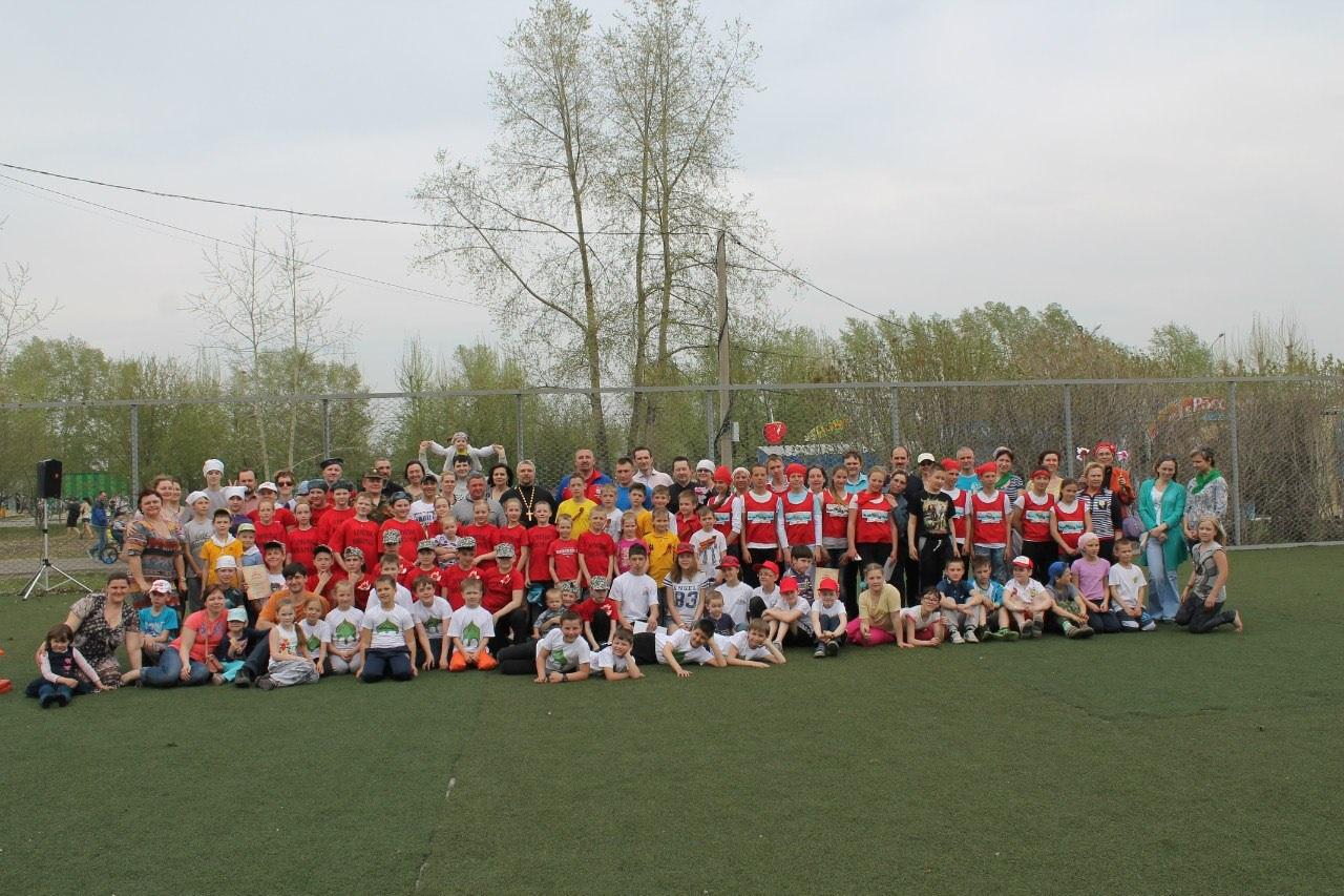 Военно-спортивная игра по распорядку среди воспитанников воскресных школ