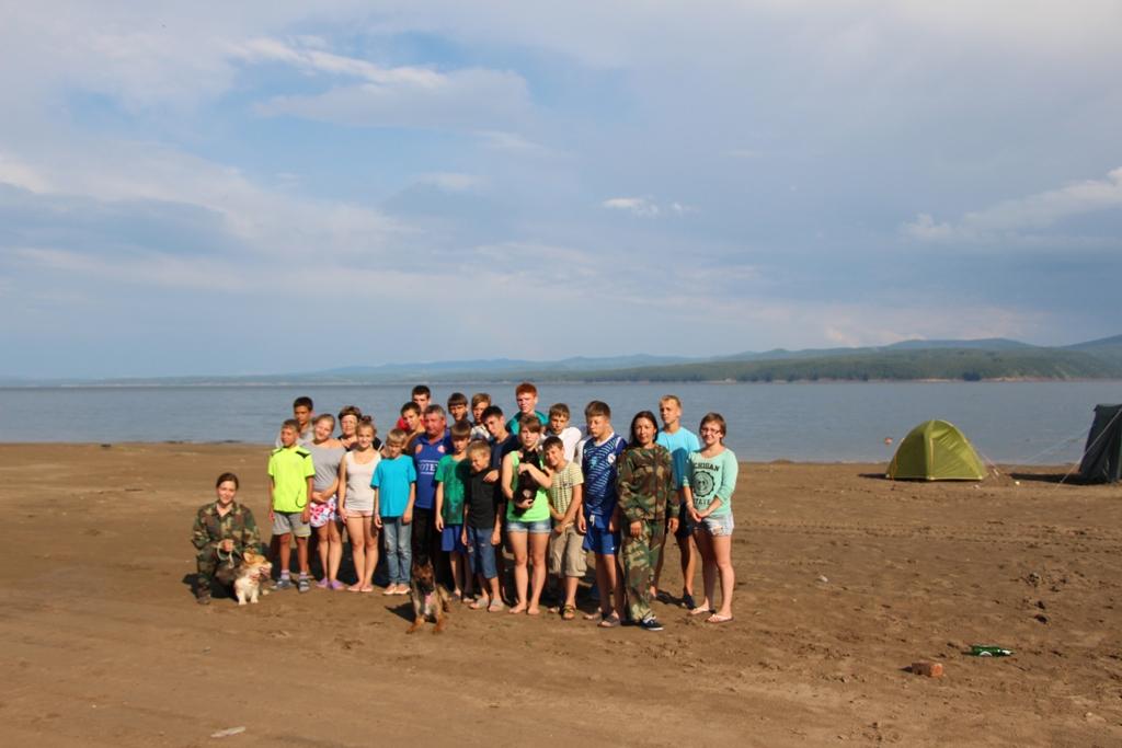 Закончился летний оздоровительный сезон в туристическом палаточном лагере