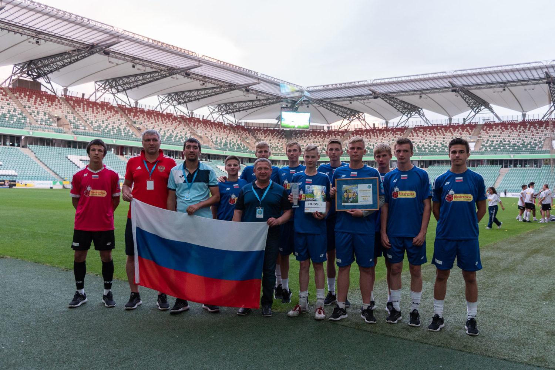 ФК «Тотем» готовится к Чемпионату мира