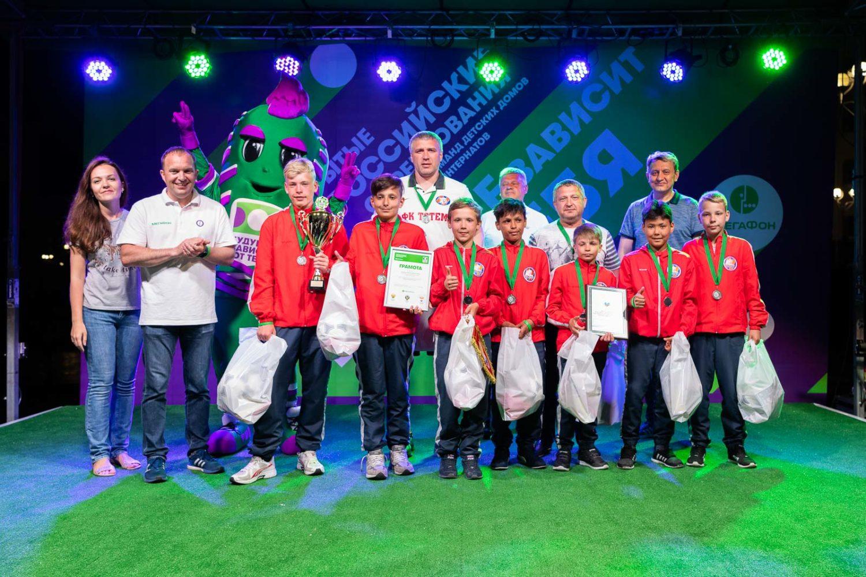 ФК «Тотем» начинает набор детей от 4 лет для занятий по футболу