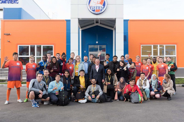 Сергей Горбунов поздравил Детский дом №1 с юбилеем