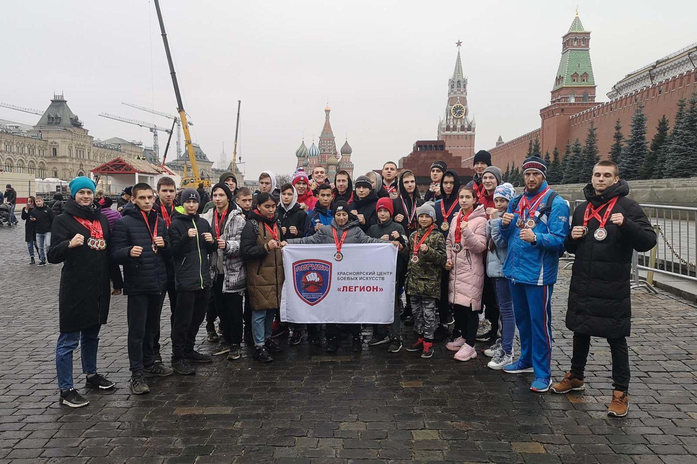В Красноярск вернулись 11 Чемпионов России